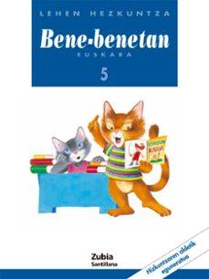 bene-benetan euskara 5 lehen hezkuntza-9788481471168