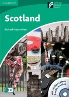 scotland (3 lower-intermediate) (book with cd-rom and audio cd pa ck)-9788483235768
