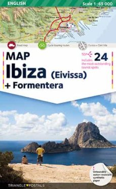 mapa ibiza (ingles)-9788484783268