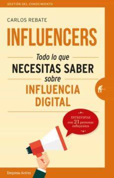 influencers-carlos rebate-9788492921768