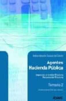 Padella.mx Agentes De Hacienda Publica: Temario (Vol. 2) Image