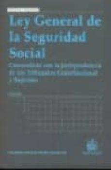 Geekmag.es Ley General De La Seguridad Social (3ª Edicion) Image