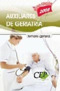 Lofficielhommes.es Temario General. Auxiliares De Geriatria. Oposiciones Generales Image