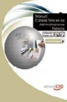 Bressoamisuradi.it Manual Calidad Total En Las Administraciones Publicas. Formacion Para El Empleo Image
