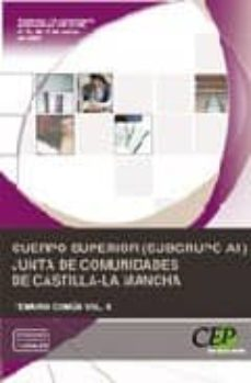 Inmaswan.es Cuerpo Superior (Subgrupo A1) Junta De Comunidades De Castilla-la Mancha:temario Comun Vol. Ii Image