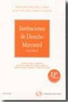 Bressoamisuradi.it Instituciones Derecho Mercantil (V. Ii) (33ª Ed.) Image
