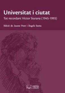 Titantitan.mx Universitat I Ciutat: Tot Recordant Victor Siurana (1945-1993) Image