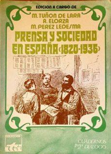 Ojpa.es Prensa Y Sociedad En España (1820-1936) Image
