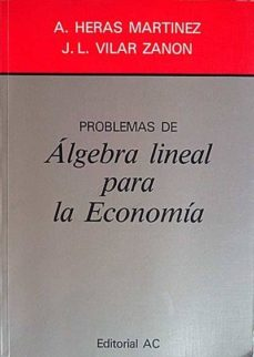 Inciertagloria.es Problemas De ÁLgebra Lineal Para La Economía Image