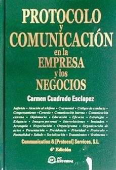 Javiercoterillo.es Protocolo Y Comunicación En La Empresa Y Los Negocios Image