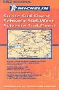 Curiouscongress.es Suisse Sud-ouest Schweiz Süd-west Svizzera Sud-ovest Nº 552 (Regi Al) (1:200000) Image
