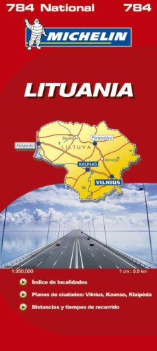 Costosdelaimpunidad.mx Lituania (Mapas Michelin, Ref. 784) Image