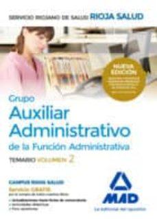 Permacultivo.es Grupo Auxiliar Administrativo De La Funcion Administrativa Del Servicio Riojano: Temario Image