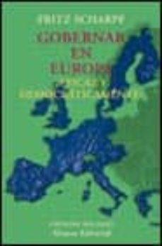 Permacultivo.es Gobernar En Europa ¿Eficaz Y Democraticamente? Image