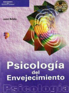 Descargar libros en pdf. PSICOLOGIA DEL ENVEJECIMIENTO