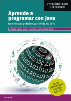 aprende a programar con java (2ª ed. revisada y actualizada)-alfonso jimenez marin-francisco manuel perez montes-9788428338578