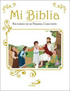Ojpa.es Mi Biblia: Recuerdo De Mi Primera Comunion Image
