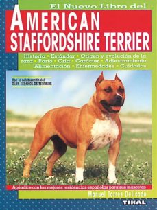 american sattfordshire terrier-manuel torres delicado-9788430586578