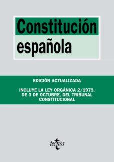 Descargar CONSTITUCION ESPAÃ'OLA: INCLUYELA LEY ORGANICA DEL TRIBUNAL CONSTITUCIONAL gratis pdf - leer online
