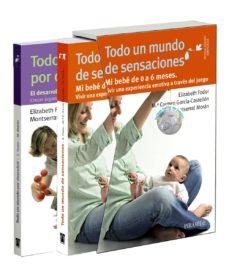 estuche todo un mundo de sensaciones y por descubrir (3ª ed.)-elizabeth fodor-montserrat moran moreno-9788436832778