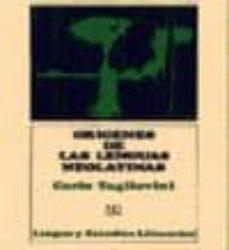 Valentifaineros20015.es Origenes De Las Lenguas Neolatinas (6ª Ed.) Image