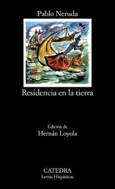 Libros en línea gratuitos para descargar para kindle RESIDENCIA EN LA TIERRA