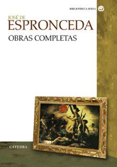 Descargar ebooks móviles JOSE DE ESPRONCEDA: OBRAS COMPLETAS DJVU FB2 CHM in Spanish
