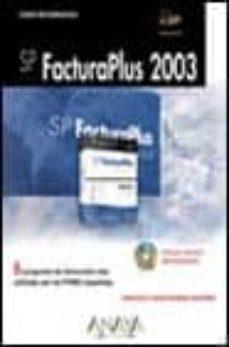 Concursopiedraspreciosas.es Sp Facturaplus 2003 (Incluye Cd) Image
