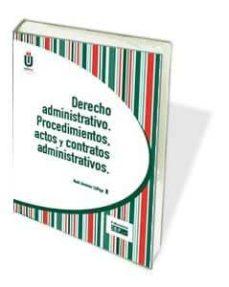 Bressoamisuradi.it Derecho Adminsitrativo. Procedimientos, Actos Y Contratos Adminis Trativos Image
