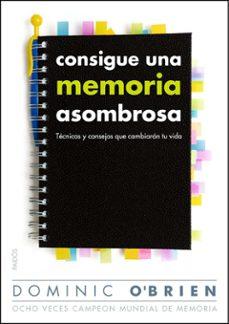 Descargar CONSIGUE UNA MEMORIA ASOMBROSA: TECNICAS Y CONSEJOS QUE CAMBIARAN TU VIDA gratis pdf - leer online
