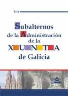Cronouno.es Subalternos De La Administracion De La Xunta De Galicia: Test Image