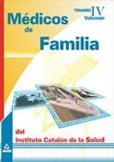 Permacultivo.es Medicos De Familia Del Instituto Catalan De Salud. Temario (Vol. Ii) Image