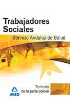 Inmaswan.es Trabajadores Sociales Del Servicio Andaluz De Salud. Sas. Temario Image
