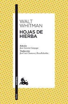 hojas de hierba-walt whitman-9788467037678