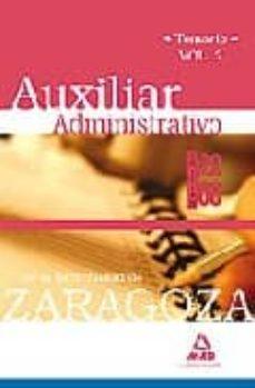 Curiouscongress.es Auxiliares Administrativos De La Universidad De Zaragoza. Temario . Volumen Ii Image