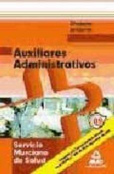 Titantitan.mx Auxiliares Administrativos Del Servicio Murciano De Salud. Simula Cros De Examen Image
