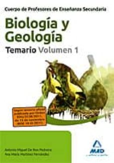Inmaswan.es Cuerpo De Profesores De Enseñanza Secundaria. Biologia Y Geologia Temario. Volumen 1 Image