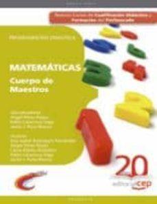 Eldeportedealbacete.es Cuerpo De Maestros. Educacion Primaria. Matematicas. Programacion Didactica Image