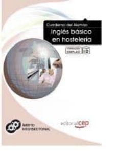 Geekmag.es Cuaderno Del Alumno Inglés Básico En Hostelería. Formación Para El Empleo Image