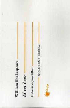 el rei lear (català)-william shakespeare-9788477275978