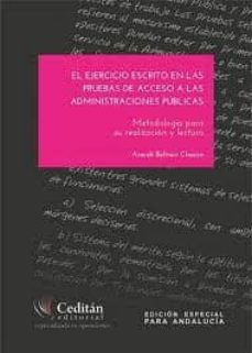 Cdaea.es El Ejercicio Escrito En Las Pruebas De Acceso A Las Administracio Nes: Metodologia Para Su Realizacion Y Lectura Image
