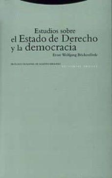 Descargar ESTUDIOS SOBRE EL ESTADO DE DERECHO Y LA DEMOCRACIA gratis pdf - leer online