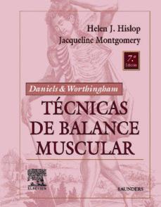 Colorroad.es Daniels &Amp; Worthingham Tecnicas De Balance Muscular (7ª Ed.) Image