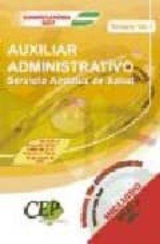 Titantitan.mx Oposiciones Auxiliar Administrativo. Servicio Andaluz De Salud (S As): Temario (Vol. I) Image
