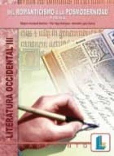 Emprende2020.es Literatura Occidental Iii: Del Romanticismo A La Posmodernidad, P Oesia Image