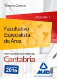 Titantitan.mx Facultativo Especialista De ÁRea De Las Instituciones Sanitarias De Cantabria. Temario General Volumen 1 Image