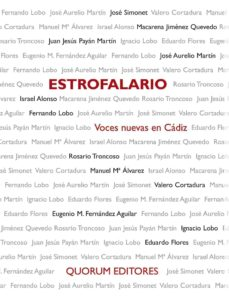 Carreracentenariometro.es Estrofalario: Voces Nuevas En Cadiz Image