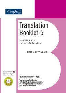 translation booklet 5 (contiene cd) (nivel intermedio alto)-9788496469778