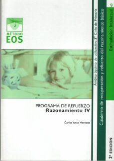 metodo eos: razonamiento iv (6º ed)-carlos yuste-9788497272278
