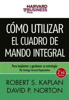como utilizar el cuadro de mando integral (2ª ed.)-robert s. kaplan-9788498750478